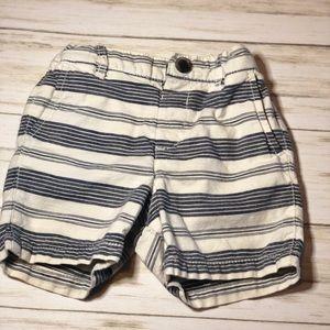 Children's Place Striped Shorts - 12-18 Months